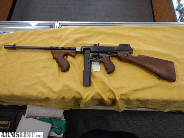 ARMSLIST - For Sale: Auto Ordnance Tommy Gun Thompson  45