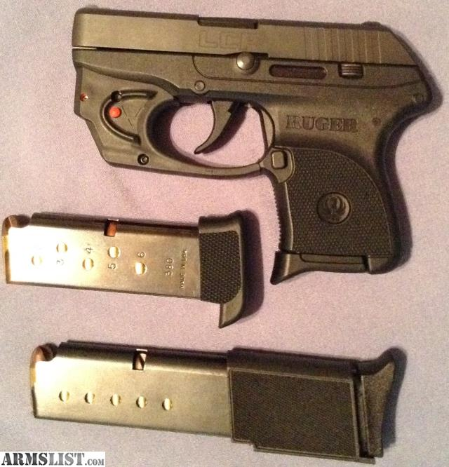 ARMSLIST - For Sale: Ruger LCP 380 with Viridian laser (un-fired