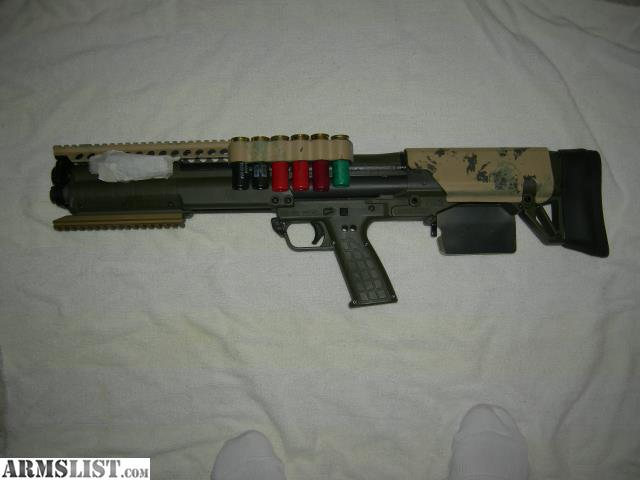 ARMSLIST - For Sale: Custom Kel-Tec KSG shotgun