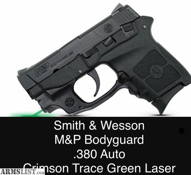 ARMSLIST - For Sale: Smith & Wesson Bodyguard with Green Laser