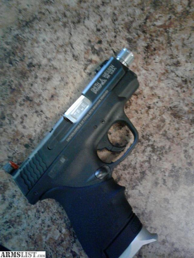 M And P Shield Custom ARMSLIST - For Trade: ...