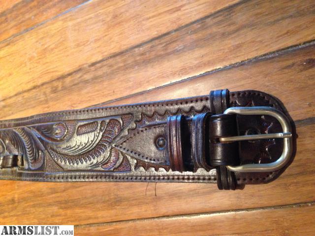 armslist for sale beautiful tooled gun belt