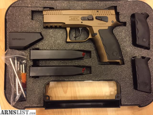 ARMSLIST - For Sale: Kriss USA Sphinx SDP Compact Alpha 9mm
