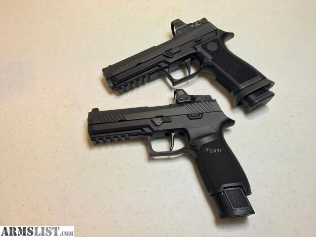 ARMSLIST - For Sale: FT: Sig Sauer P320 RX with Romeo 1 red