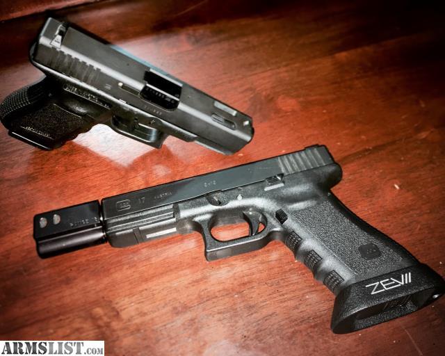 ARMSLIST - For Sale/Trade: Custom match Glock 17