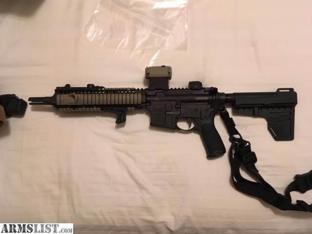 Armslist For Sale Mk18 Pistol 5 56