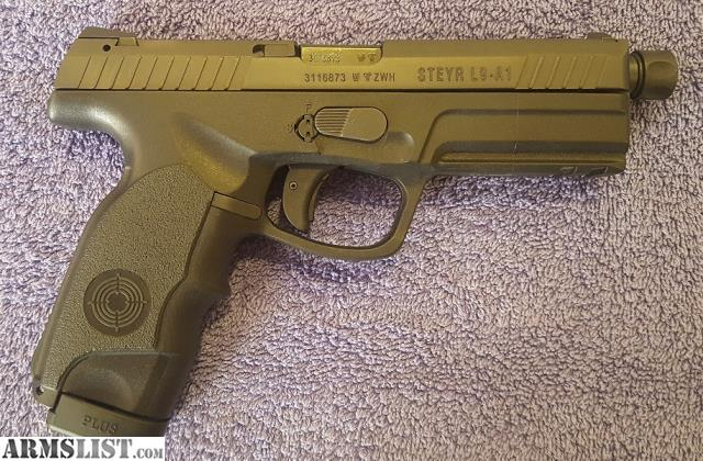 ARMSLIST - For Trade: Steyr Arms L9-A1 9mm Pistol LNIB w/Threaded