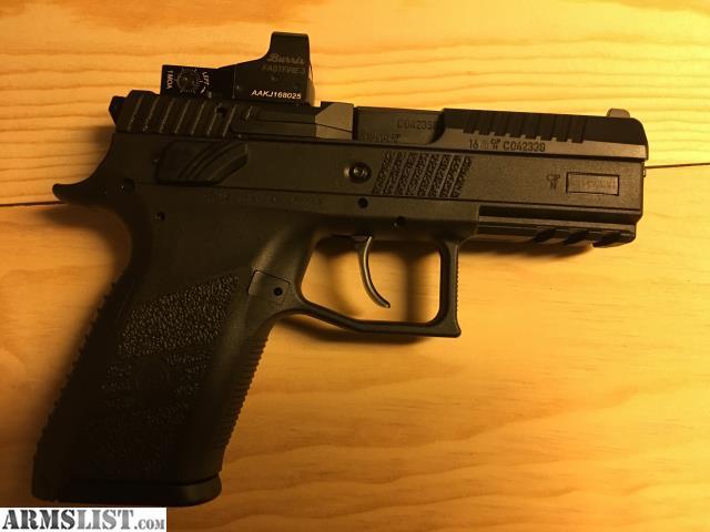ARMSLIST - For Sale: CZ P07 9mm Carry Optic USPSA