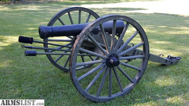 ARMSLIST - For Sale: 1841 6 Pounder Civil War Cannon