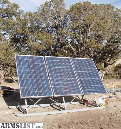 Armslist For Sale Trade Solar Panels Amp Equipment