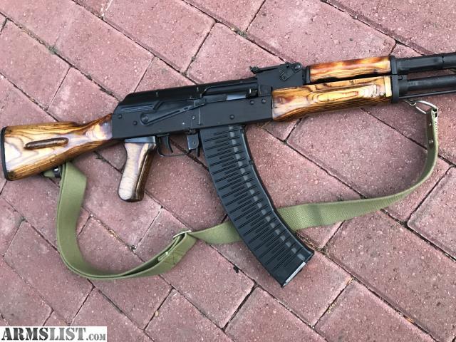 ARMSLIST - For Sale: Wasr 2 in 5 45x39, Russian pistol grip