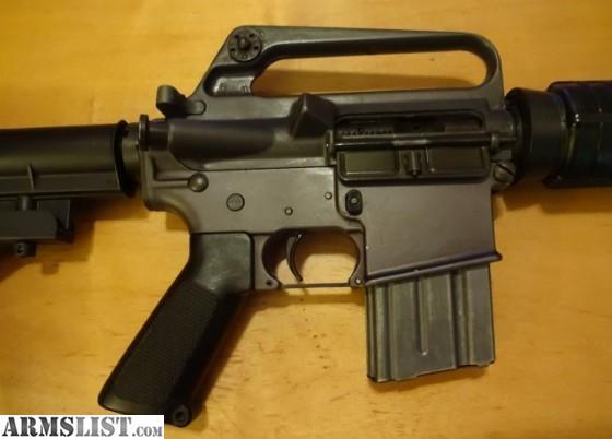Armslist For Sale Colt Sp1 Rifle Ar15 Ar 15 Carbine A1 5 Digit