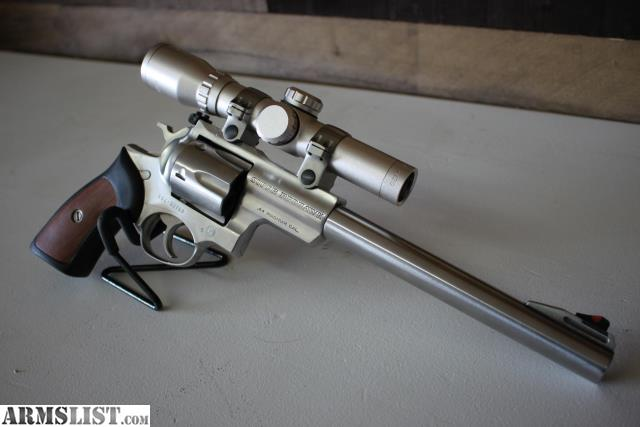 Ruger Super Redhawk Stainless Scope Rings
