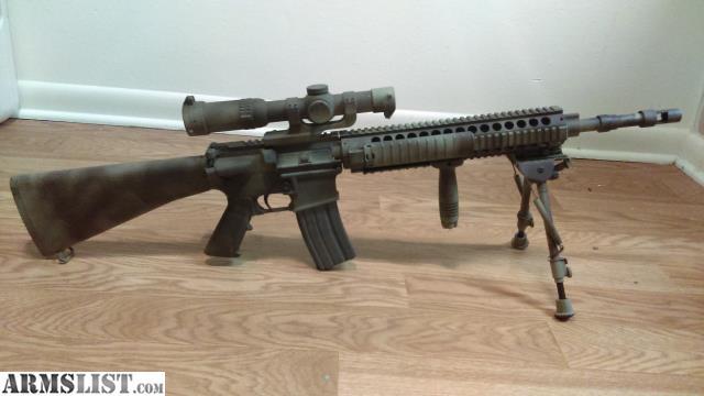 "ARMSLIST - For Sale/Trade: MK12 SPR AR15 ""Sniper Rifle"""