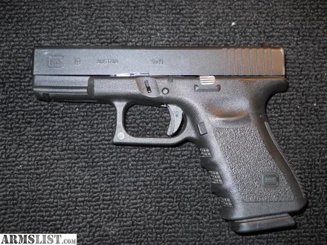 ARMSLIST - For Sale/Trade: Glock 19 gen 3