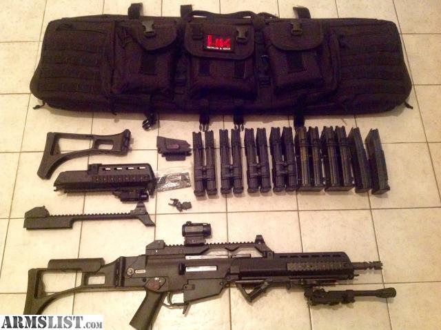 ARMSLIST - For Sale/Trade: Heckler and Koch HK SL8 G36