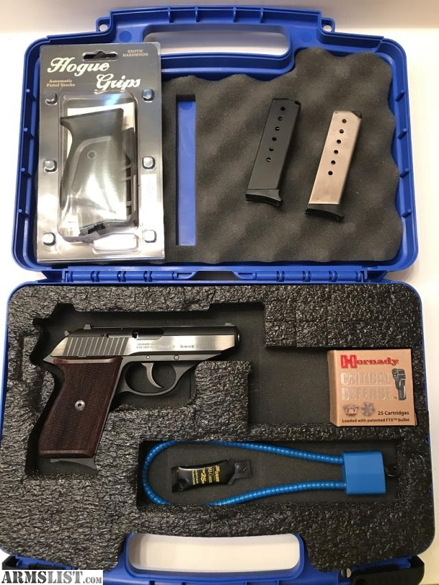 ARMSLIST - For Sale: SIG SAUER P230 West German w/ Wood Grips, 3 Mags
