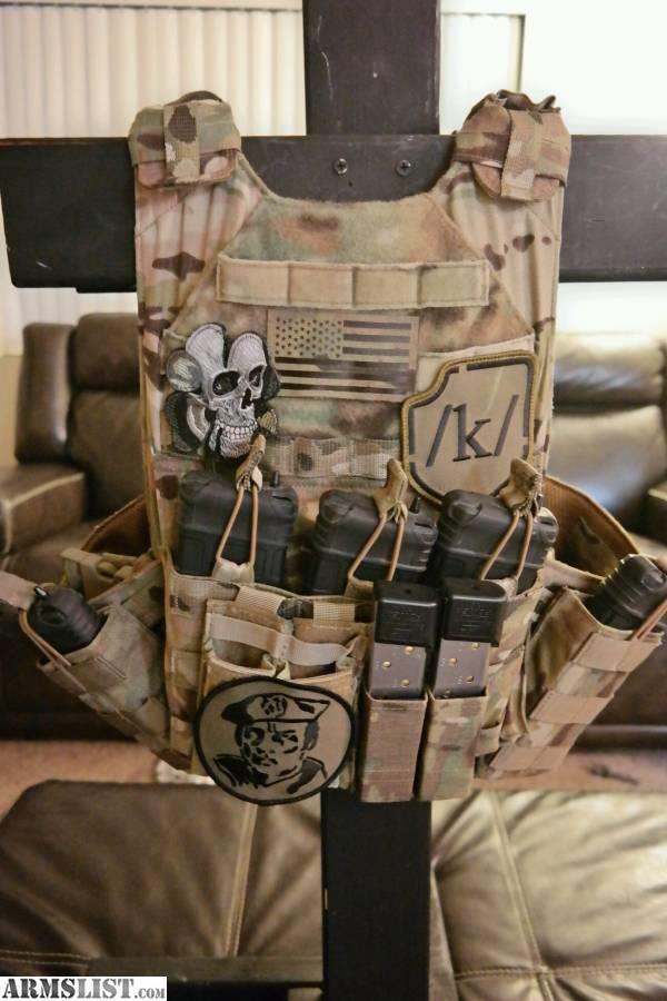 ARMSLIST - For Sale: TAG Plate Carrier Vanguard Vest