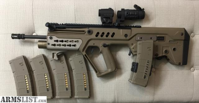Armslist For Sale Trade Iwi Tavor Fde With Upgrades And