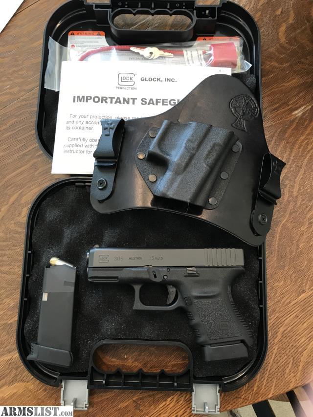 ARMSLIST - For Sale/Trade: Glock 30S with Crossbreed Holster