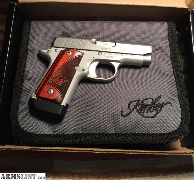 Kimber 9mm Micro 9 Stainless Tfx Pr: For Sale/Trade: Kimber Micro 9 Stainless LNIB