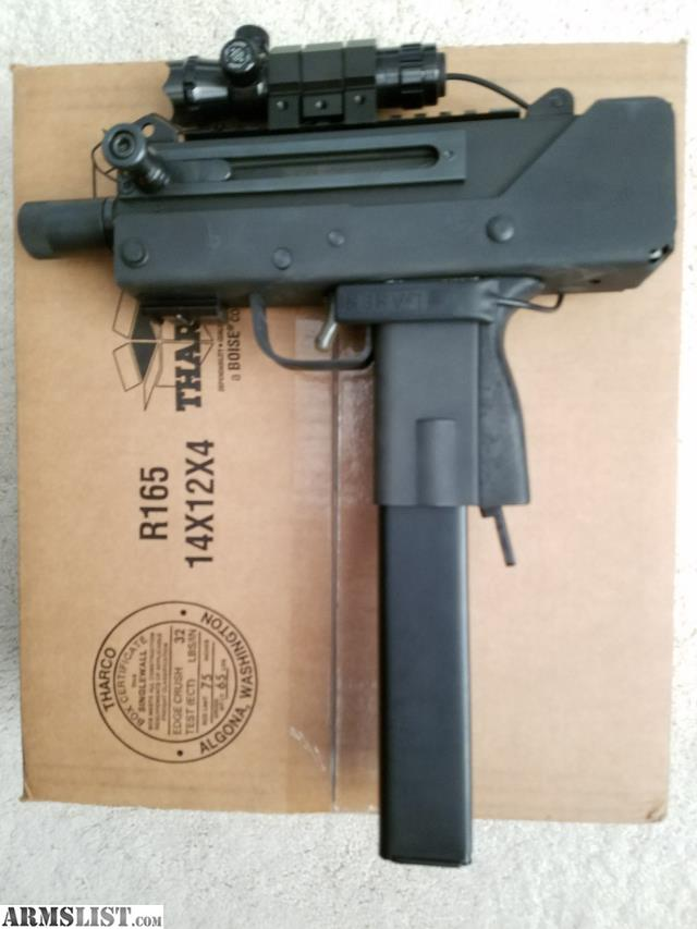 ARMSLIST - For Sale: Masterpiece Arms MPA10SST (similar to Uzi or Mac10)