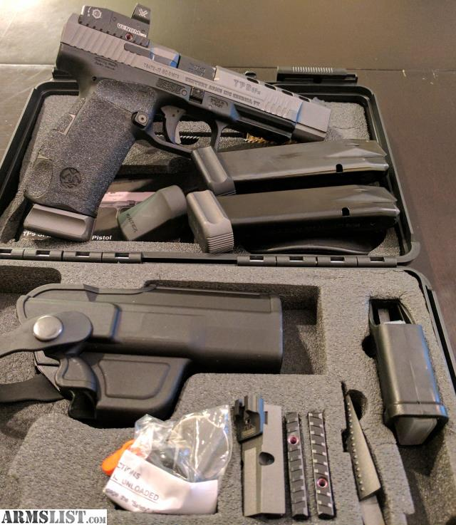 ARMSLIST - For Sale: CANIK TP9SFX WITH UPGRADES