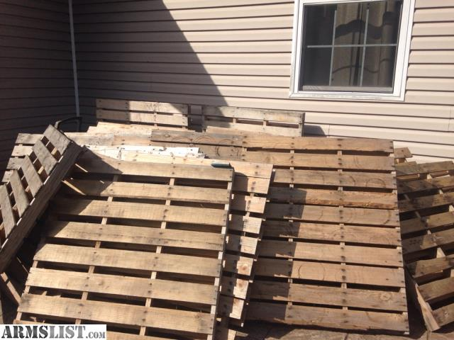 ARMSLIST For Sale Pallets