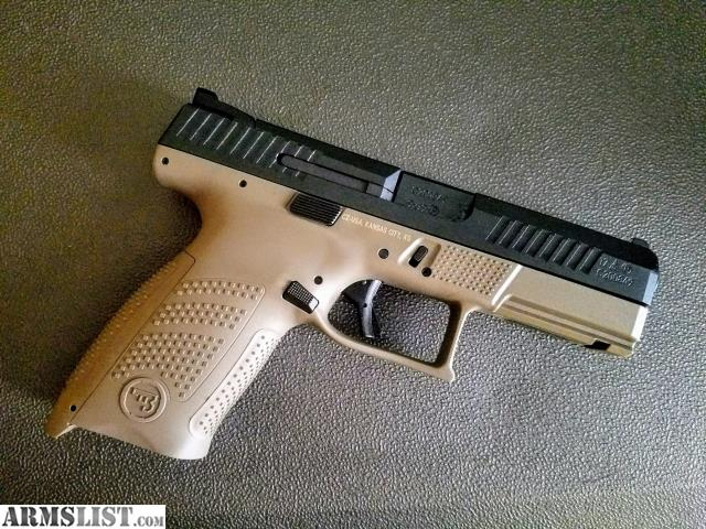 ARMSLIST - For Sale/Trade: CZ P-10 C 9mm in FDE + ammo