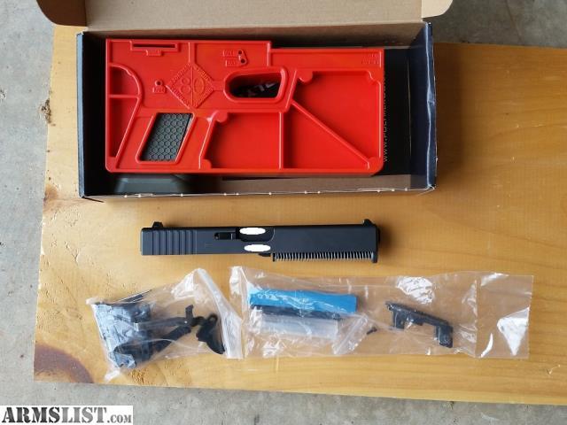 ARMSLIST - For Sale/Trade: Glock Spectre 80% Complete Kit