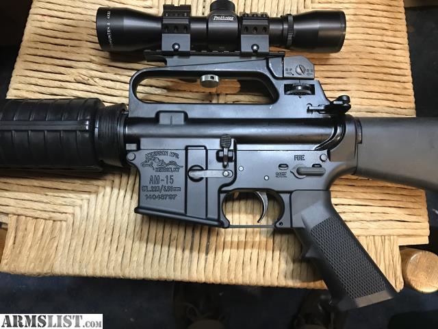 ARMSLIST - For Sale: AR-15 A2 Bushmaster HBAR