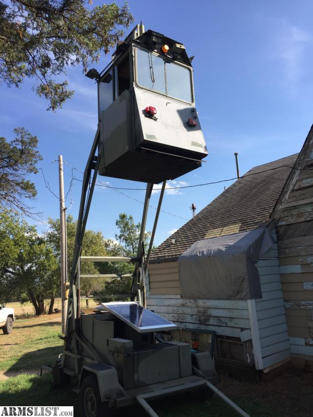 Used Military Vehicles >> ARMSLIST - For Sale: Skywatch Mobile Guard Tower