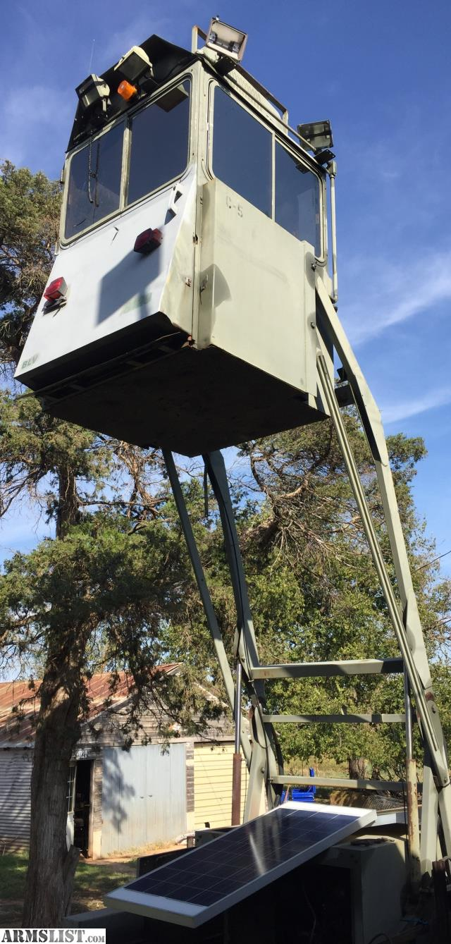 ARMSLIST - For Sale: Skywatch Mobile Guard Tower