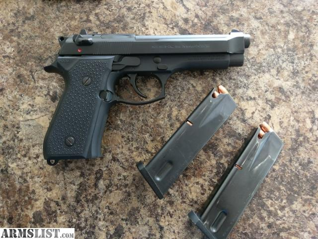 ARMSLIST - For Sale: Beretta 92 FS - 9mm WITH CTC laser
