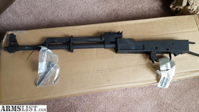 ARMSLIST - For Sale: Ak47 milled barreled receiver polish