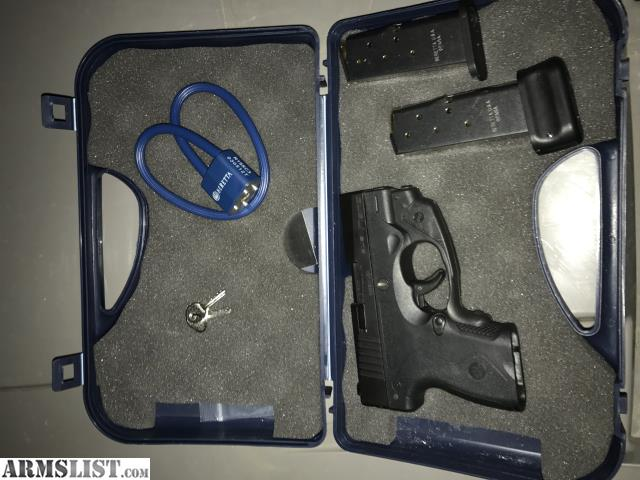 ARMSLIST - For Sale: Beretta Nano 9mm Pistol with Crimson