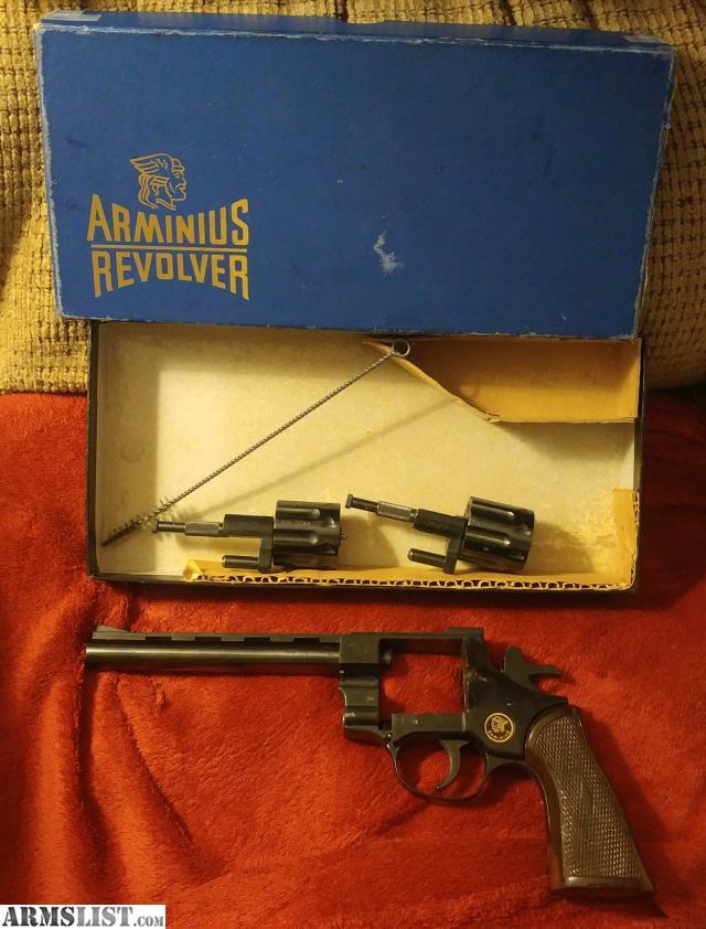 Arminius Revolver Parts | Pics | Download |