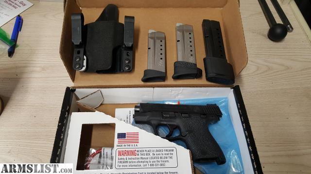 Armslist for sale s w m p 9mm p c ported shield with for M p ported shield 9mm