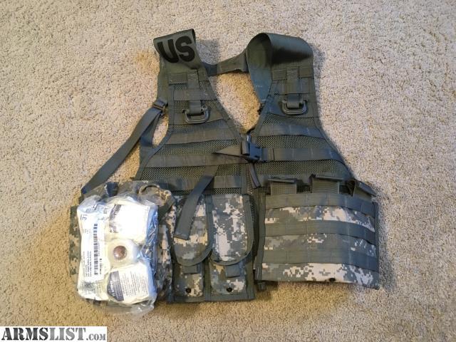 ARMSLIST - For Sale: USGI Army UPC Camo MOLLE II FLC Vest