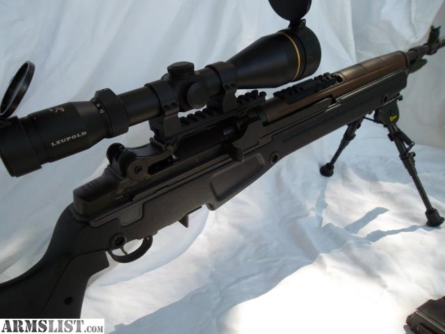 ARMSLIST - For Sale: M1A Scout with JAE stock+tons more