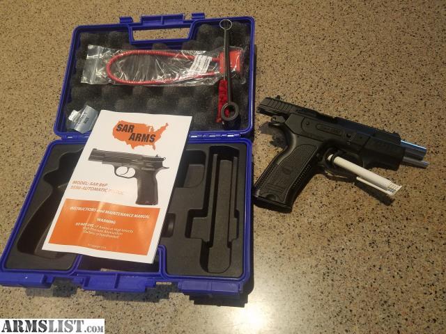 ARMSLIST - For Sale: Sar Arms SARB6P SAR B6P