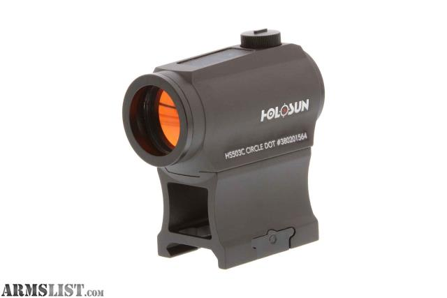 Armslist For Sale Nib Holosun Hs503c 150