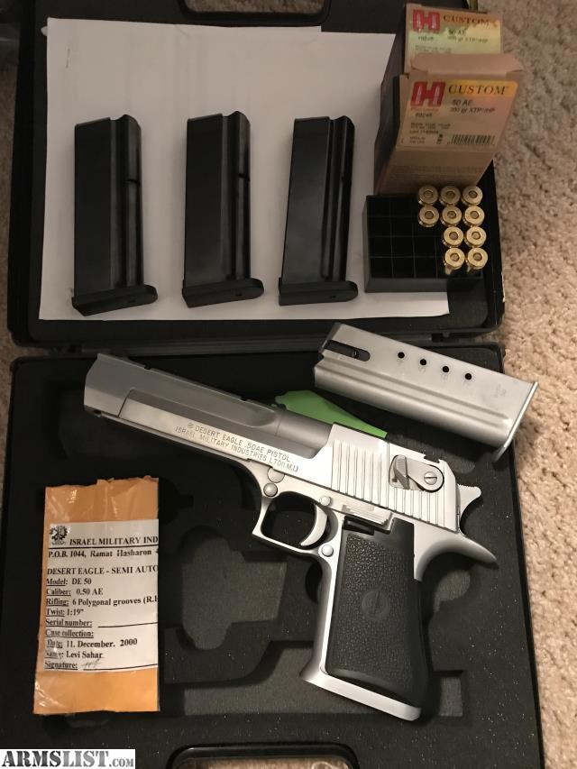 New Handguns 2017 >> ARMSLIST - For Trade: Desert eagle 50ae