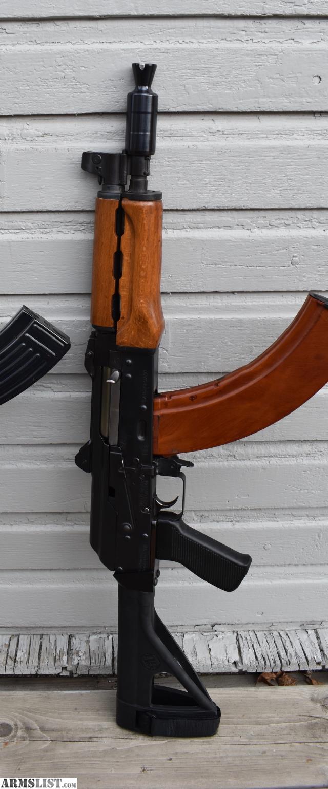 ARMSLIST - For Sale: M92 PAP AK pistol w/ brace