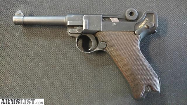 ARMSLIST - For Sale: German Luger