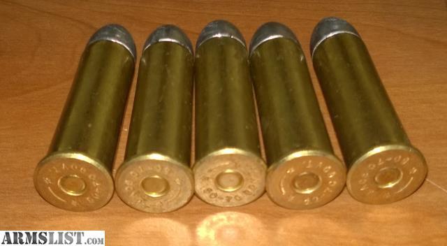 ARMSLIST - For Sale: 70 Rounds 50-70 Black Powder Ammo