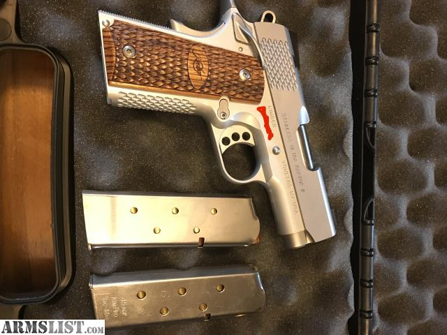 ARMSLIST - For Sale: Kimber 1911 Stainless Ultra Raptor II