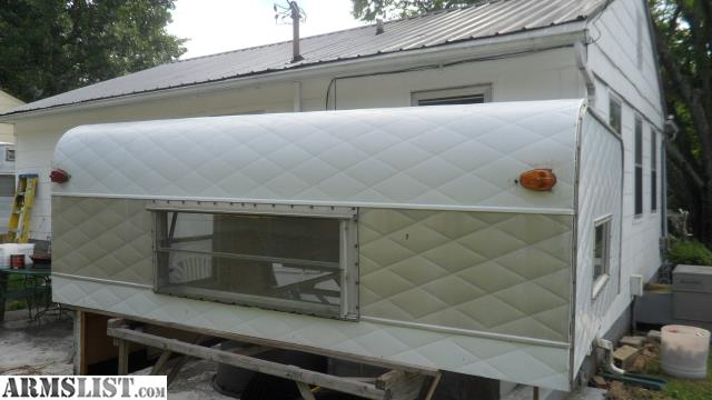 1967 HUNTSMAN CAMPER Fits Full Size 8 Ft Bed Truck GREAT FOR HUNTING CAMP 75000 CASH OR TRADE NO BLACKPOWDER 865