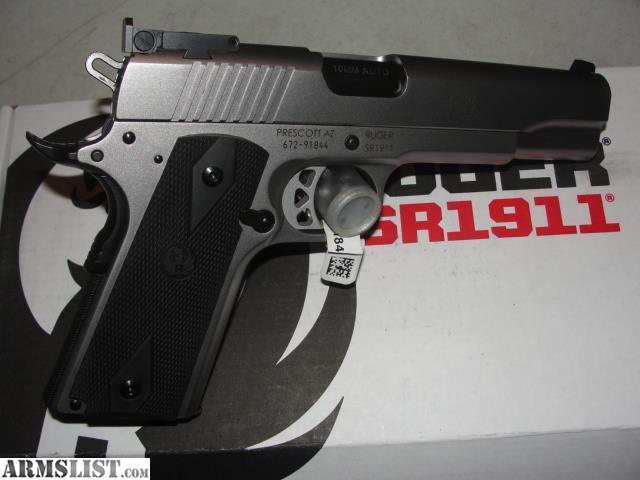 ARMSLIST - For Sale: RUGER SR1911 10mm
