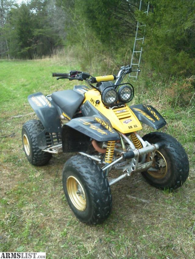Armslist  Ft Yamaha Warrior 350 6 Speed